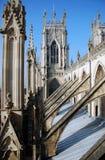 монастырская церковь york Стоковые Фотографии RF