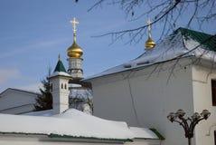 Монастырь Бориса и Gleb в Dmitrov, древнем городе в области Москвы стоковое фото rf