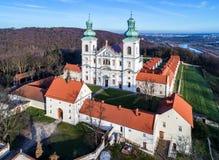 Монастырь братьев cameldolite в Bielany, Кракове, Польше Стоковые Фотографии RF