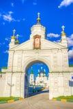 Монастырь восхождения Pechersky в Nizhny Novgorod стоковые изображения