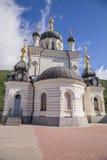 Монастырь в Крыме Стоковое Фото