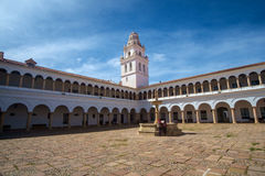 Монастырь в Сукре, Боливии стоковые фотографии rf