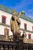 Монастырь в Broumov, чехии стоковое фото rf