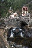 Монастырь в Jatare Сербии стоковое изображение rf