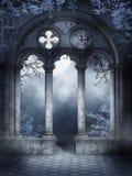 монастырь губит лозы Стоковые Фото