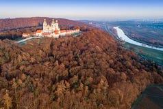 Монастырь и церковь Camaldolese в Bielany, Cracow, Польше Стоковое Изображение RF