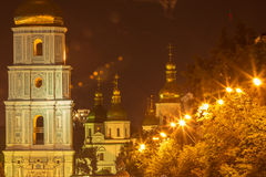 Монастырь Киева Софии Стоковые Изображения