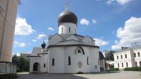Монастырь Марты и Mary в Москве, России Стоковое фото RF