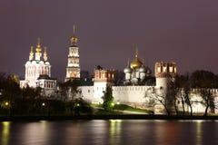 Монастырь монастыря Novodevichy, Москва Стоковые Фотографии RF