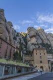 Монастырь Монтсеррата, Барселона, Каталония Стоковые Изображения RF