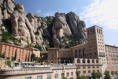 Монастырь Монтсеррата около Барселоны Стоковая Фотография