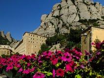 Монастырь Монтсеррата около Барселоны Стоковые Фото