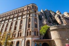 Монастырь на Монтсеррате Стоковая Фотография RF