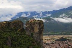 Монастырь на Meteora Греции Стоковые Изображения RF