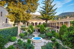 Монастырь неофита Святого, Paphos, Кипр стоковая фотография