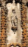 монастырь Португалия замока tomar Стоковые Изображения