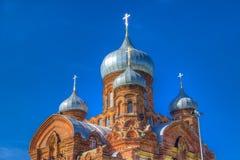 Монастырь России Казани Danilov стоковая фотография