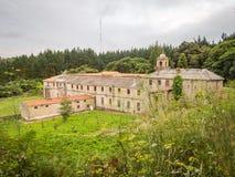 Монастырь Санты Каталины в Ares - стоковая фотография
