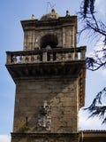 Монастырь Санты Каталины в Ares стоковое изображение rf