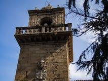 Монастырь Санты Каталины в Ares стоковое фото rf