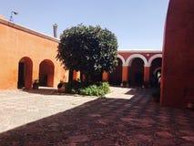 Монастырь Санты Каталины стоковые изображения rf