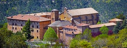 Монастырь Сан-Сальвадора Leyre в испанской Наварре Стоковые Изображения