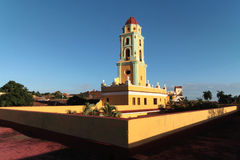 Монастырь Сан-Франциско и колокольня Стоковое Изображение