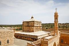 Монастырь святой девственницы, Mardin Стоковые Изображения RF