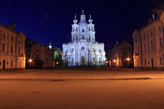 монастырь собора smolny Стоковое Изображение