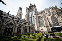 Монастырь собора Utrecht стоковые фото