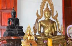 Монастырь Таиланд виска внутренний Стоковое Изображение RF