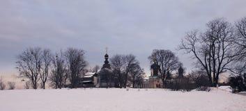 Монастырь троицы St Jonas в Киеве Стоковое Изображение RF
