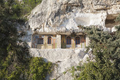 Монастырь утеса Стоковые Фотографии RF