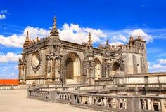 Монастырь Христоса в Tomar, Португалии Стоковое фото RF