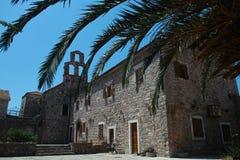Монастырь церков Черногории Стоковая Фотография