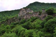 Монастырь церков Akhtala армянский апостольский стоковое изображение rf