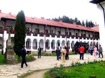 Монастырь Agapia, Молдова Стоковые Фотографии RF