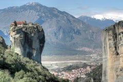 Монастырь Aghia Triada Стоковое Изображение RF