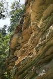 Монастырь Aladzha - правоверный христианский комплекс монастыря пещеры bulbed стоковая фотография