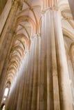 Монастырь Alcobaca место ЮНЕСКО в Португалии Стоковое Фото