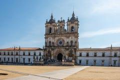 Монастырь Alcobaca Португалии стоковое изображение rf