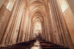 Монастырь Alcobaca стоковое изображение
