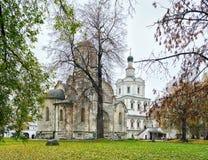 Монастырь Andronikov в Москве Стоковое Изображение RF