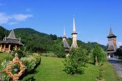 Монастырь Barsana Стоковое Изображение RF