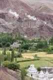 Монастырь Basgo в Ladakh, Индия, Стоковая Фотография RF