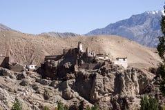 Монастырь, Basgo, Ladakh, Индия Стоковое Изображение