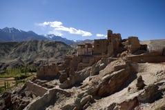 Монастырь, Basgo, Ladakh, Индия Стоковая Фотография