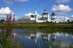 Монастырь Bobrenev в Kolomna, России Стоковые Фотографии RF