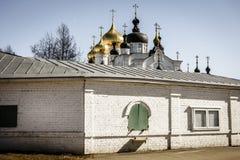 Монастырь Bogoyavlensky в Kostroma, России Стоковое Фото