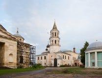 Монастырь Borisoglebsky древнего города Torzhok Стоковая Фотография